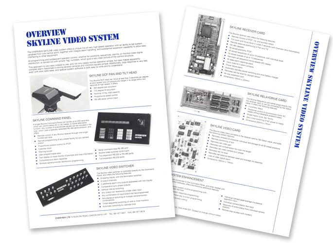 Overview Skyline Video System