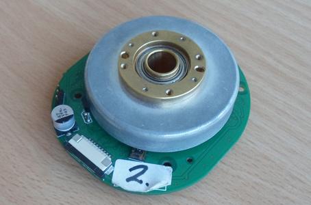 Brushless motor prototype